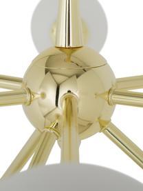 Duża lampa wisząca Space, Odcienie złotego, S 81 x G 71 cm