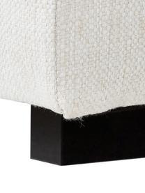 Großes Ecksofa Tribeca in Beige, Bezug: Polyester Der hochwertige, Gestell: Massives Kiefernholz, Füße: Massives Buchenholz, lack, Webstoff Beige, B 315 x T 228 cm