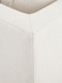 Divano angolare in tessuto beige Tribeca, Rivestimento: poliestere Il rivestiment, Struttura: legno massiccio di pino, Piedini: legno massiccio di faggio, Tessuto beige, Larg. 315 x Prof. 228 cm
