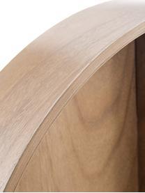 Wandregal Merlin, Holz, Holz, Ø 60 x T 10 cm