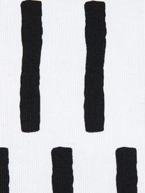 Kissenhülle Jerry in Schwarz/Weiß, 100% Baumwolle, Schwarz, Weiß, 40 x 40 cm