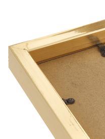 Bilderrahmen Golden Austin, Rahmen: Holz, lackiert, Front: Glas, spiegelnd, Goldfarben, Sondergrößen