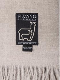 Plaid in baby alpaca Luxury, Beige, P 130 x L 200 cm