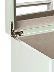 Portagioie con specchio Taylor, Menta, Larg. 26 x Alt. 13 cm