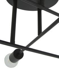 Deckenleuchte Visby, Baldachin: Metall, pulverbeschichtet, Schwarz, matt, ∅ 55 x H 20 cm