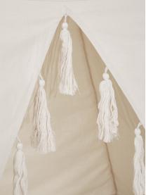 Kinder-Tipi Lagos, Baumwolle, Metall, Beige, 110 x 140 cm