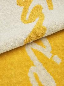 Ręcznik plażowy Creating Memories, Żółty, S 80 x D 180 cm