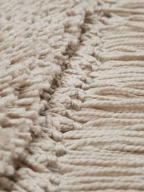 Puszysty dywan z wysokim stosem z frędzlami Dreamy, Kremowy, S 200 x D 300 cm (Rozmiar L)