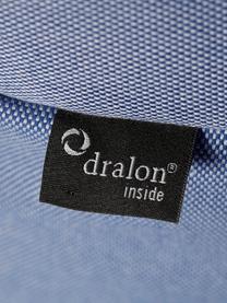Garten-Loungesessel Sitzsack Twist mit Liegefunktion, Bezug: Polyacryl Dralon (garngef, Blau, B 70 x T 80 cm