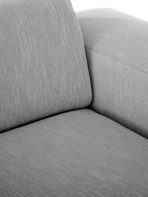 Sofa Melva (3-Sitzer) in Grau, Bezug: 100% Polyester Der hochwe, Gestell: Massives Kiefernholz, FSC, Füße: Kunststoff, Webstoff Grau, B 238 x T 101 cm