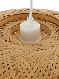 Design Pendelleuchte Eden aus Bambus, Lampenschirm: Bambus, Bambus, Ø 45 cm x H 21 cm