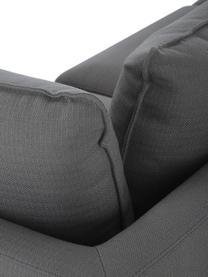 XL-Ecksofa Tribeca in Anthrazit, Bezug: 100% Polyester Der hochwe, Gestell: Massives Buchenholz, Füße: Massives Buchenholz, lack, Webstoff Anthrazit, B 405 x T 228 cm