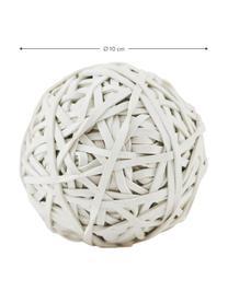 Gummiball Rubba, Gummi, Weiß, Ø 10 x H 10 cm