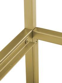 Himmelbett Belle, Metall, vermessingt, Goldfarben, matt, 180 x 200 cm