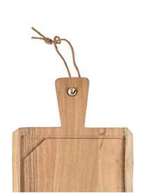 XL acaciahouten snijplank Albert, L 60 x B 23 cm, Acaciahout, Acaciahoutkleurig, 23 x 60 cm