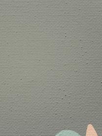 Stampa su tela Really Cool, Immagine: stampa digitale su tela, Cornice: legno, verniciato, Grigio, verde, Larg. 50 x Alt. 70 cm