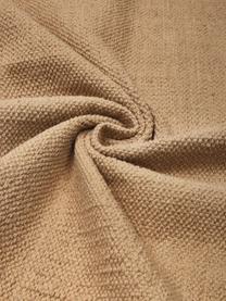 Tappeto sottile in cotone beige tessuto a mano Agneta, 100% cotone, Beige, Larg. 200 x Lung. 300 cm (taglia L)
