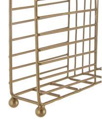 Portatovaglioli in ottone Magazin, Metallo rivestito, Ottone, Larg. 16 x Alt. 4 cm