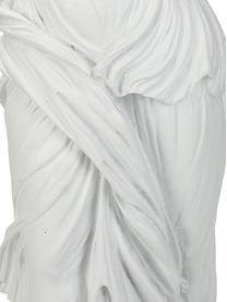 Deko-Objekt Dress, Polyresin, Weiß, 27 x 38 cm