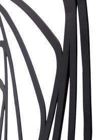 Nástenná dekorácia z kovu Universe, Čierna