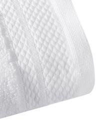 Serviette de toilette coton pur blanc uni Premium, de différentes tailles, Blanc