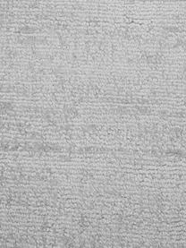 Okrągły ręcznie tkany dywan z wiskozy Jane, Srebrnoszary, Ø 150 cm (Rozmiar M)