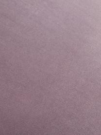 Samt-Barstuhl Rachel, Bezug: Samt (Polyester) 50.000 S, Beine: Metall, pulverbeschichtet, Samt Mauve, 48 x 110 cm