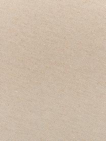 Cuscino sedia lungo in tinta unita Panama, Rivestimento: 50% cotone, 45% poliester, Color sabbia, Larg. 48 x Lung. 120 cm