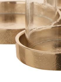 Świecznik Myra, Rama: złoty, S 26 x W 14 cm