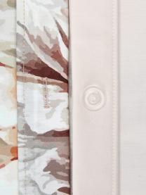 Baumwollsatin-Kopfkissenbezüge Blossom mit Blumen-Print, 2 Stück, Webart: Satin Fadendichte 210 TC,, Mehrfarbig, Rosa, 40 x 80 cm