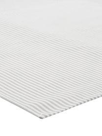 Serwetka Streifen, 6 szt., Biały, szary, 45 x 45 cm