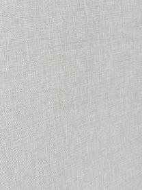 Letto Boxspring in tessuto grigio chiaro con contenitore Premium Eliza, Materasso: nucleo a 5 zone di molle , Piedini: legno di betulla massicci, Bianco-grigio chiaro, 140 x 200 cm