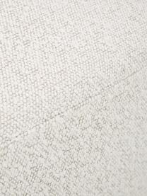 Fotel obrotowy bouclé Irene, Tapicerka: bouclé (100% poliester) D, Stelaż: metal, Nogi: metal powlekany, Kremowobiały, S 74 x G 70 cm