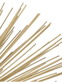 Deko-Objekt Marburch, Aufsatz: Metall, Fuß: Marmor, Unterseite: Filz, Aufsatz: Goldfarben, Fuß: Schwarzer Marmor, Ø 16 x H 11 cm