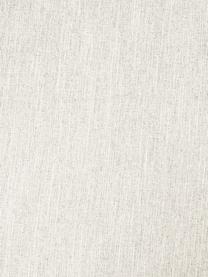 Hoekbank Melva (3-zits) in beige, Bekleding: polyester, Frame: massief grenenhout, spaan, Poten: grenenhout De poten bevin, Geweven stof beige, B 240 x D 144 cm