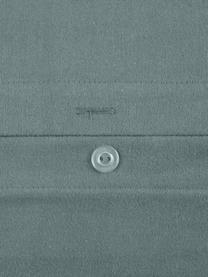 Flanell-Bettwäsche Biba in Grün, Webart: Flanell Flanell ist ein k, Grün, 155 x 220 cm + 1 Kissen 80 x 80 cm