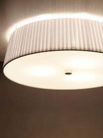 Deckenleuchte Kami, Lampenschirm: Polyester, Lampenschirm: Weiß Diffusor: Weiß, Ø 45 x H 12 cm