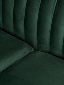 Canapé 3places velours vert Dante, Velours vert