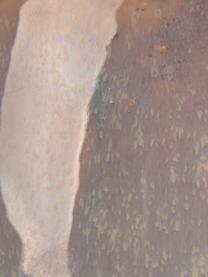 Portavaso pensile in ceramica Unique, Ceramica, Grigio, beige, Ø 16 x Alt. 8 cm