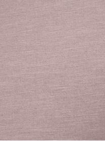 Divano 2 posti in tessuto rosa Melva, Rivestimento: poliestere Con 35.000 cic, Struttura: legno di pino massiccio, , Piedini: legno di pino, Tessuto rosa, Larg. 200 x Prof. 101 cm