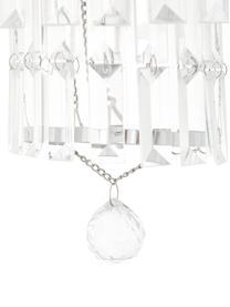 Żyrandol ze szkła Empire, Chrom, transparentny, Ø 48 x W 43 cm