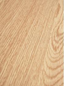Schuhregal Seaford aus Holz und Metall, Einlegeböden: Mitteldichte Holzfaserpla, Gestell: Metall, pulverbeschichtet, Wildeichenholz, 77 x 32 cm