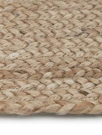 Jute-Fußmatte Sharmila, Beige, 45 x 75 cm