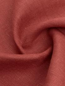 Strofinaccio in lino Heddie, 100% lino, Rosso, Larg. 50 x Lung. 70 cm