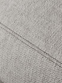 XL-Ecksofa Tribeca in Beigegrau, Bezug: Polyester Der hochwertige, Gestell: Massives Kiefernholz, Füße: Massives Buchenholz, lack, Webstoff Beigegrau, B 405 x T 228 cm