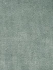 Federa arredo in velluto con frange Phoeby, Cotone, Verde salvia, Larg. 40 x Lung. 40 cm