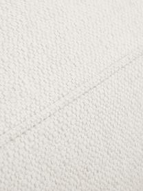 Grote hoekbank Tribeca in beige, Bekleding: polyester, Frame: massief grenenhout, Poten: gelakt massief grenenhout, Geweven stof beige, B 315 x D 228 cm