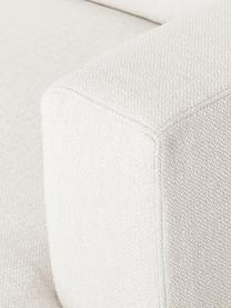 Sofa narożna XL Tribeca, Tapicerka: poliester Dzięki tkaninie, Nogi: lite drewno bukowe, lakie, Beżowy, S 405 x G 228 cm