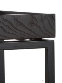 Console noire design Pizzo, Noir