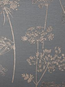 Tapete Stilistic Flower, Vlies, Grau, Beige, 52 x 1005 cm